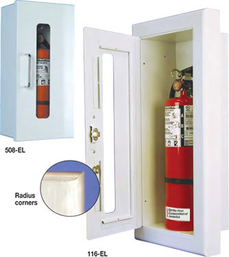 Safeguard fire extinguisher