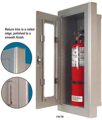 TN TITAN Series Aluminum Extinguisher Cabinets
